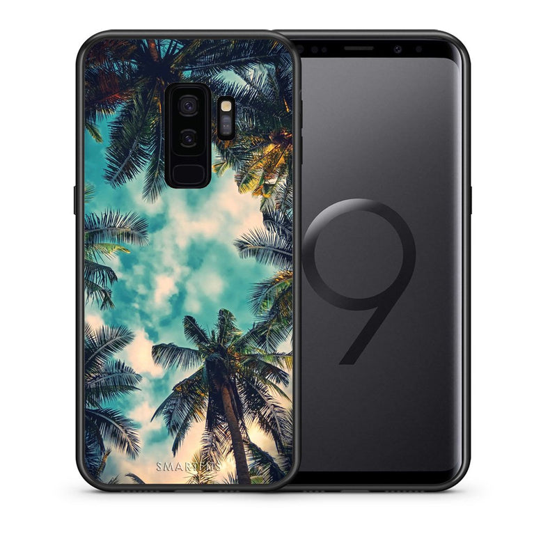 Θήκη Samsung S9 Plus Bel Air Tropic από τη Smartfits με σχέδιο στο πίσω μέρος και μαύρο περίβλημα | Samsung S9 Plus Bel Air Tropic case with colorful back and black bezels