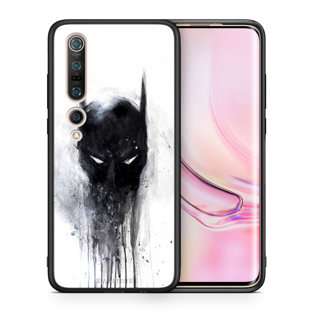 4 - Xiaomi Mi 10/10 Pro Paint Bat Hero case, cover, bumper