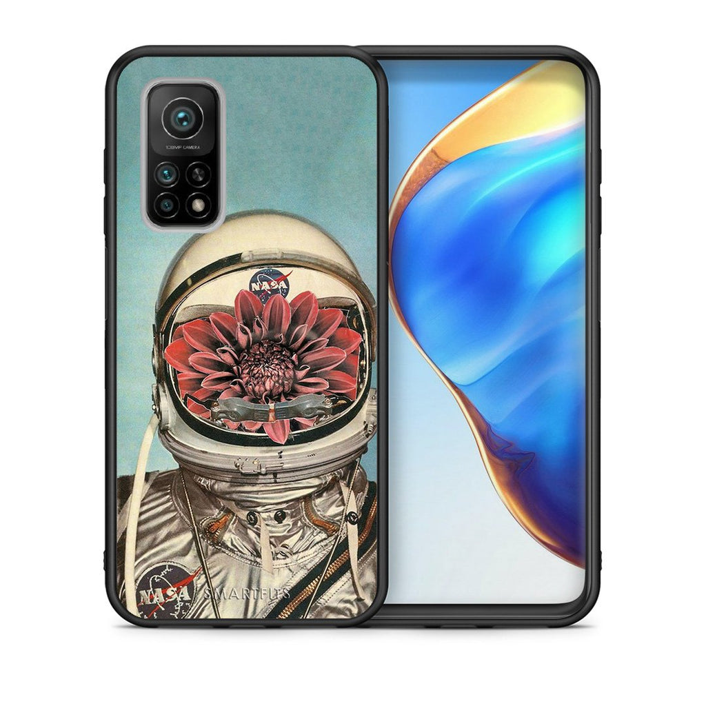 Θήκη Xiaomi Mi 10T/10T Pro Nasa Bloom από τη Smartfits με σχέδιο στο πίσω μέρος και μαύρο περίβλημα | Xiaomi Mi 10T/10T Pro Nasa Bloom case with colorful back and black bezels