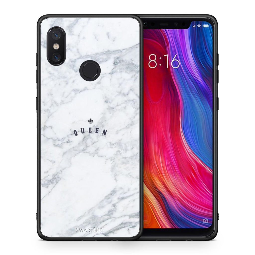 4 - Xiaomi Mi 8 Queen Marble case, cover, bumper