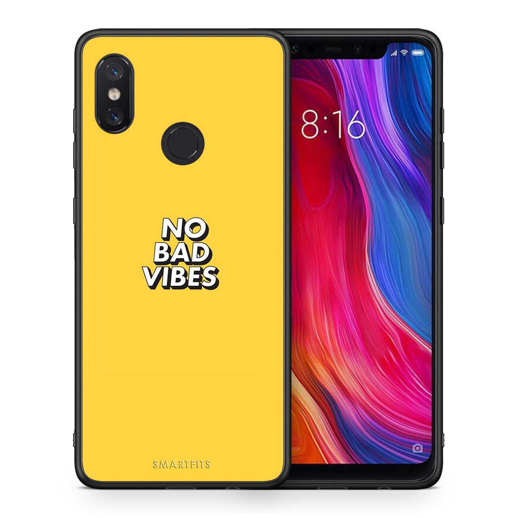4 - Xiaomi Mi 8 Vibes Text case, cover, bumper