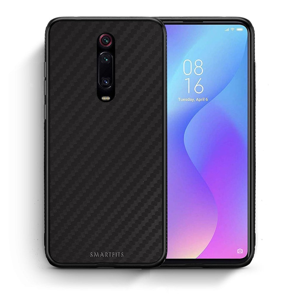 0 - Xiaomi Mi 9T Black Carbon case, cover, bumper