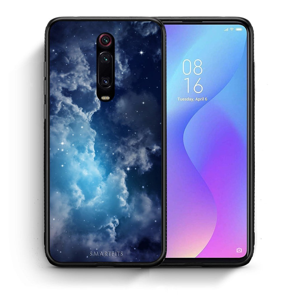 104 - Xiaomi Mi 9T Blue Sky Galaxy case, cover, bumper