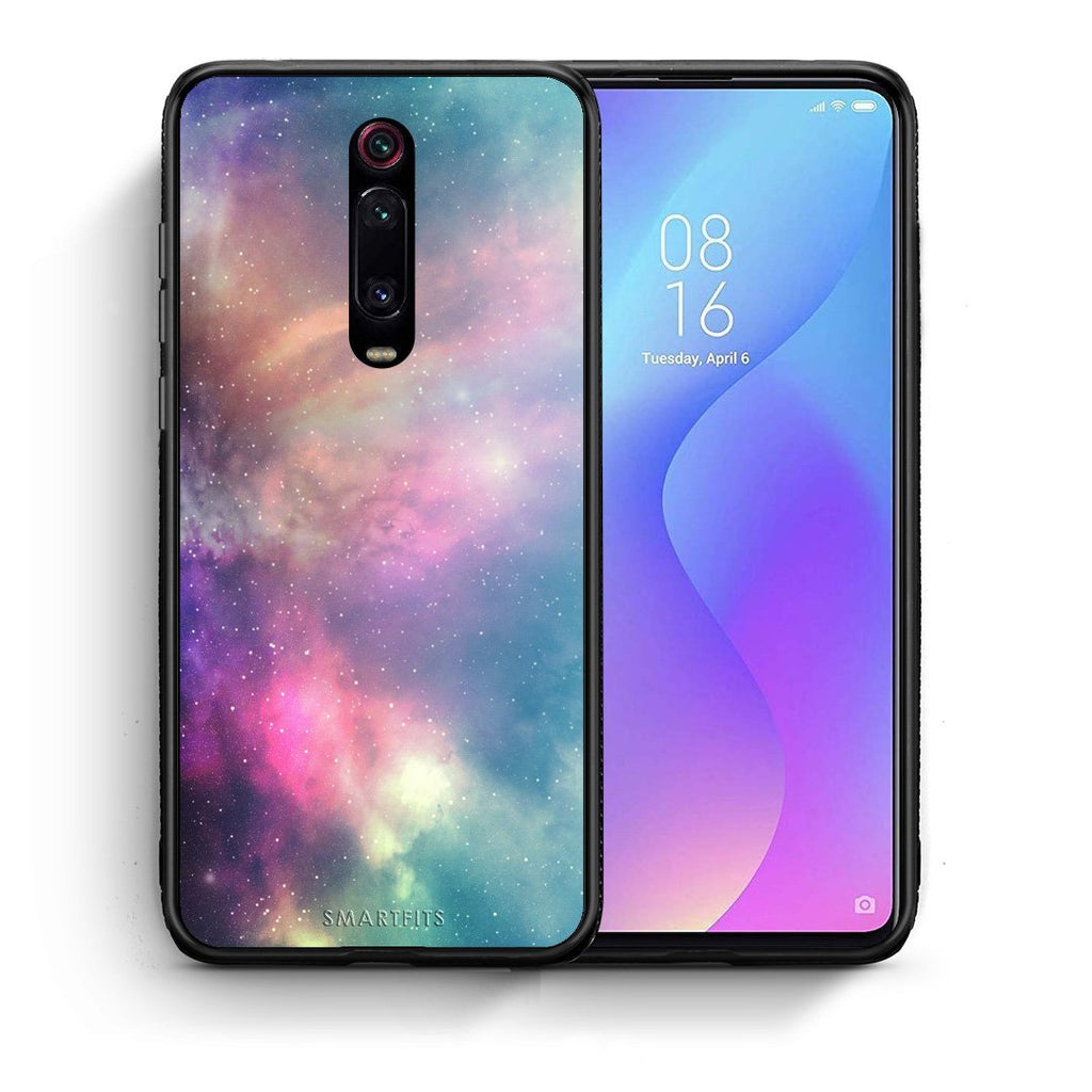 105 - Xiaomi Mi 9T Rainbow Galaxy case, cover, bumper