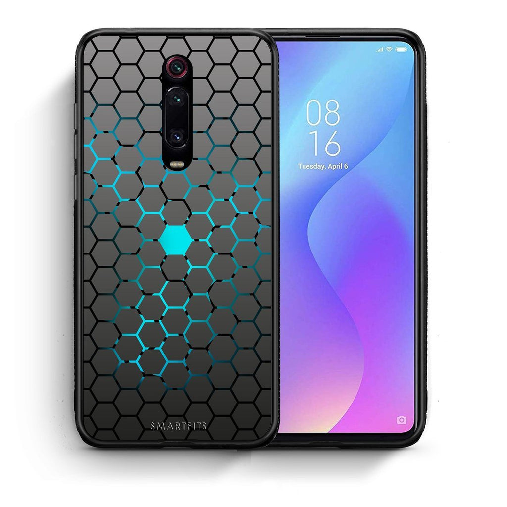 40 - Xiaomi Mi 9T Hexagonal Geometric case, cover, bumper