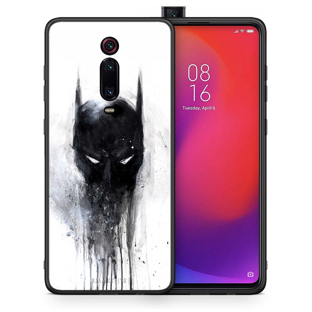 4 - Xiaomi Mi 9T Paint Bat Hero case, cover, bumper