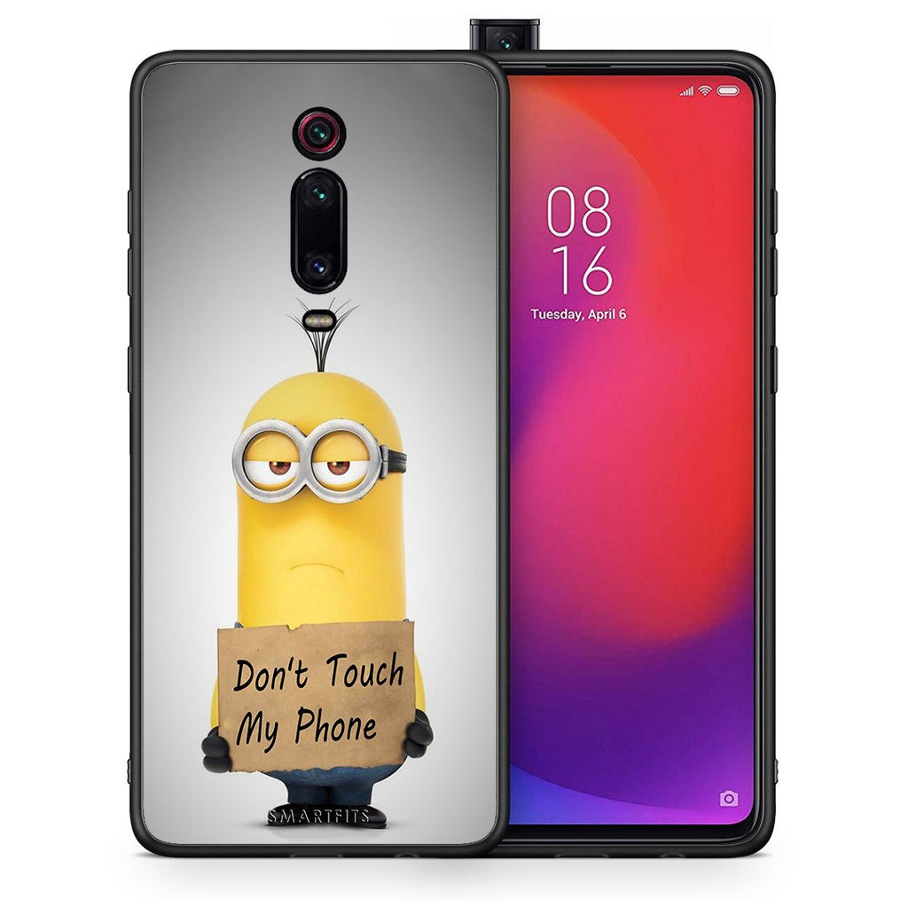 4 - Xiaomi Mi 9T Minion Text case, cover, bumper