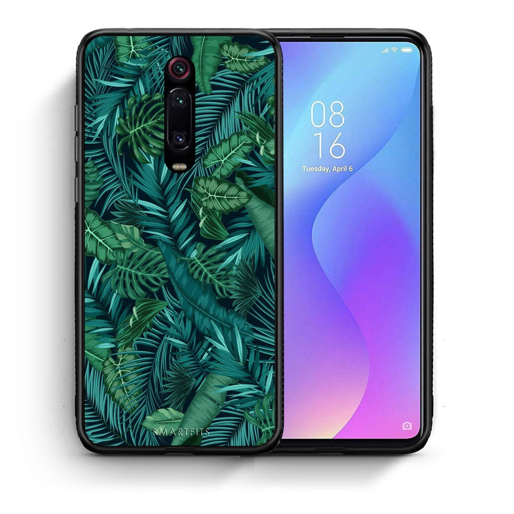 99 - Xiaomi Mi 9T Tropic Leaves case, cover, bumper
