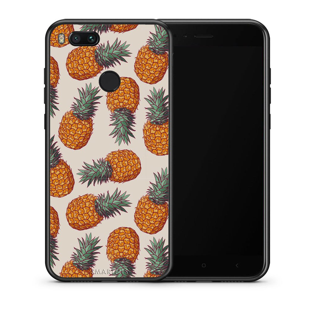 99 - xiaomi mi aSummer Real Pineapples case, cover, bumper
