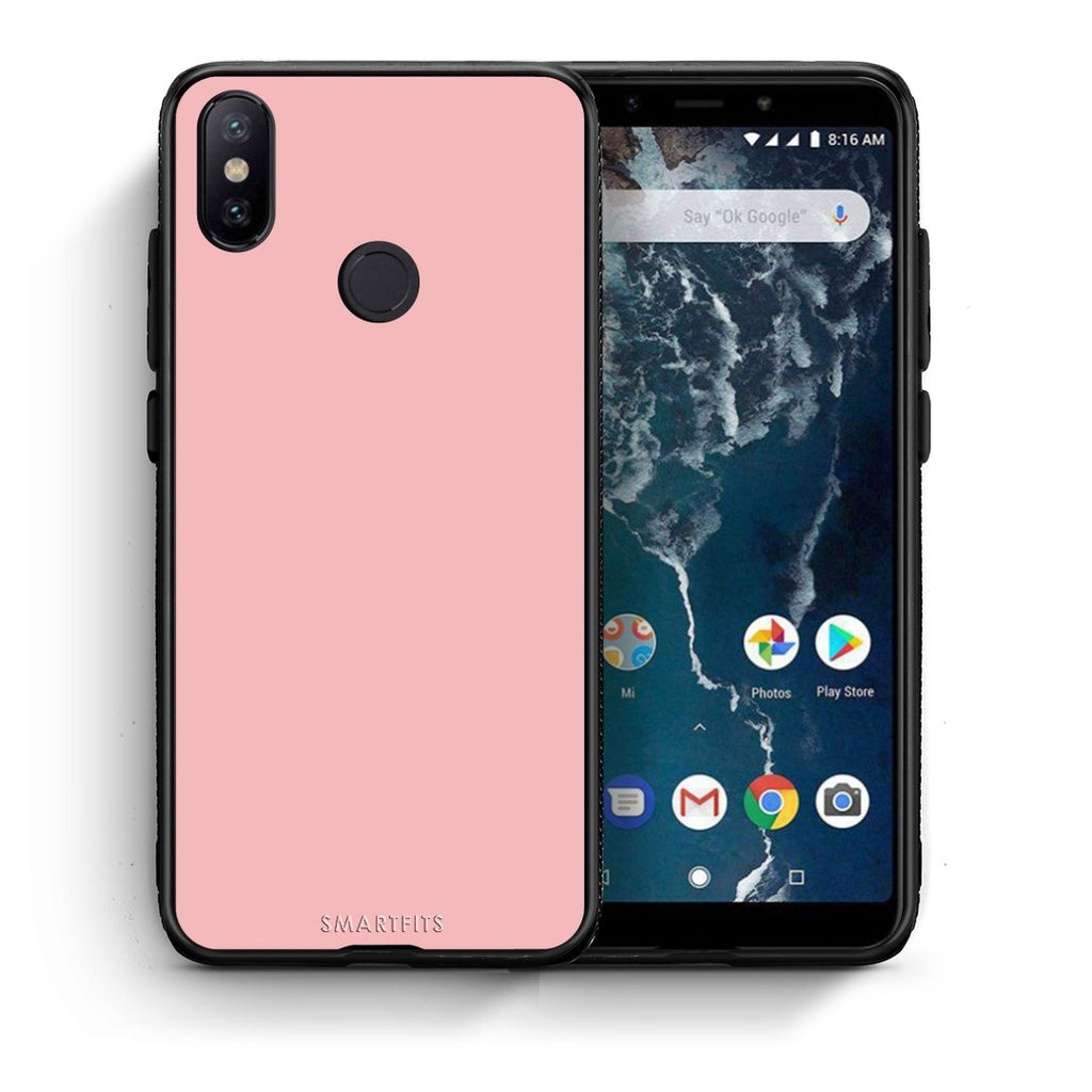 20 - Xiaomi Mi A2  Nude Color case, cover, bumper