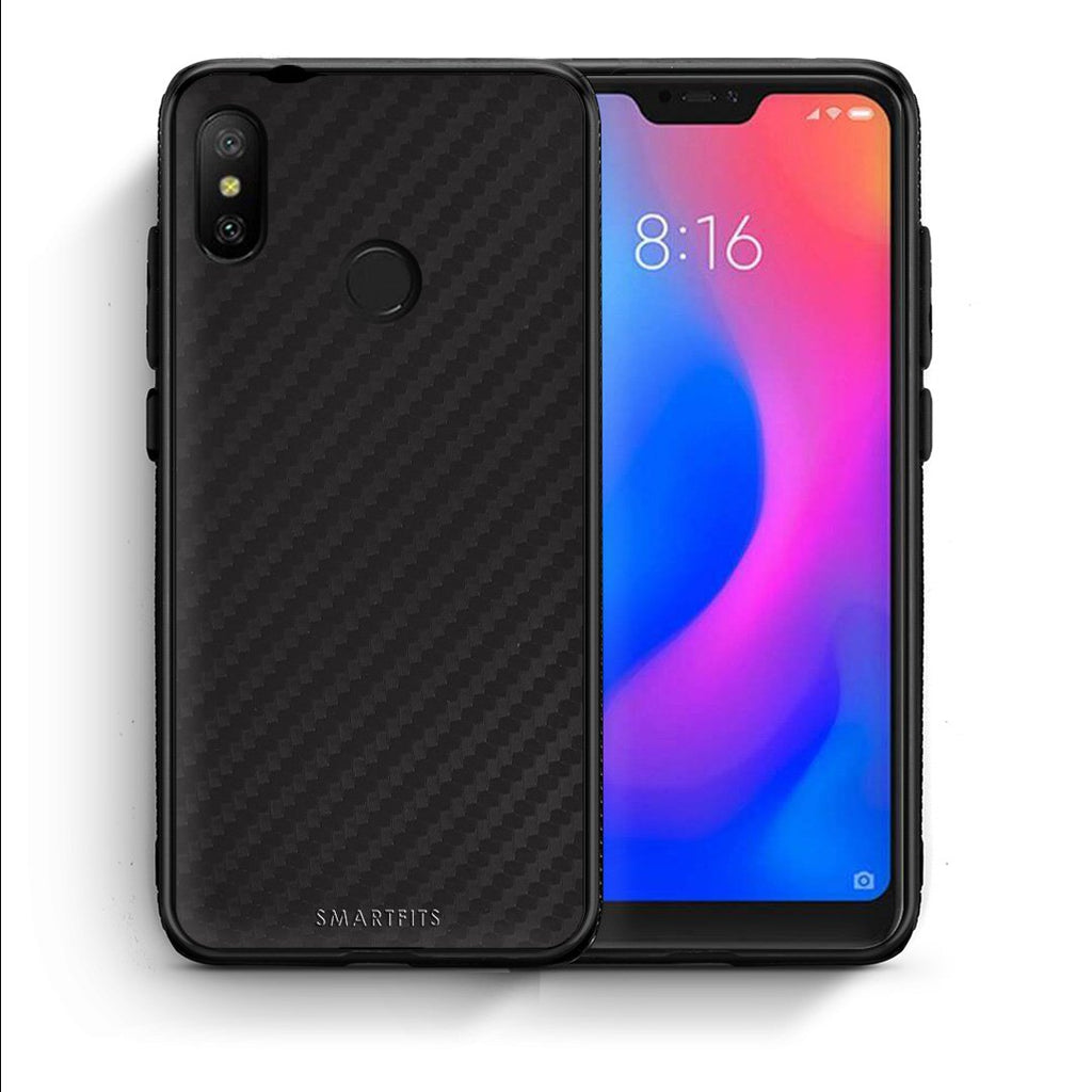0 - Xiaomi Mi A2 Lite  Black Carbon case, cover, bumper