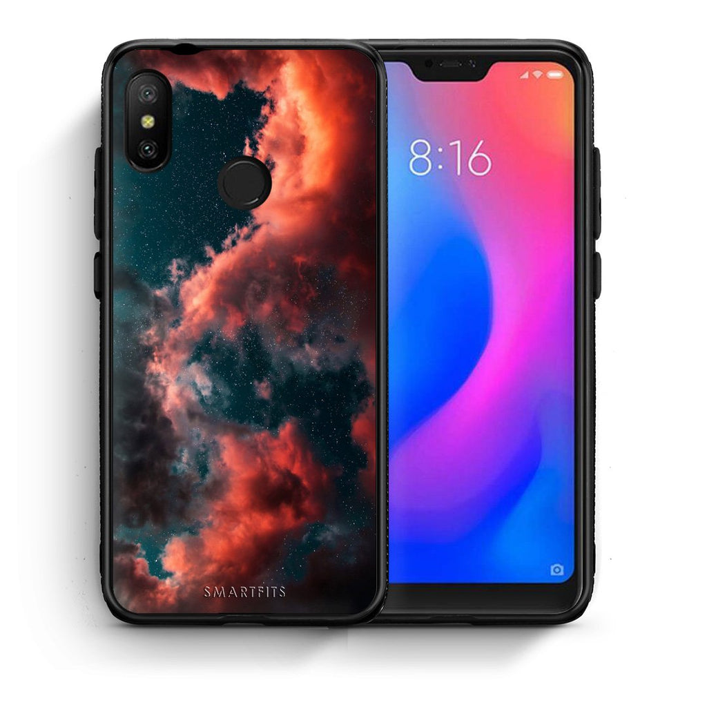 4 - Xiaomi Mi A2 Lite Cloud Galaxy case, cover, bumper