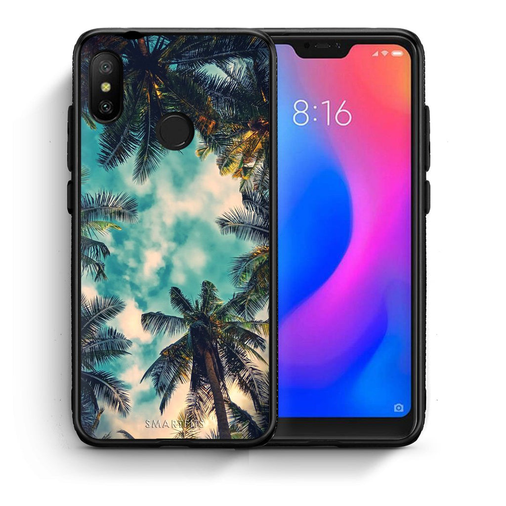 4 - Xiaomi Mi A2 Lite Bel Air Tropic case, cover, bumper
