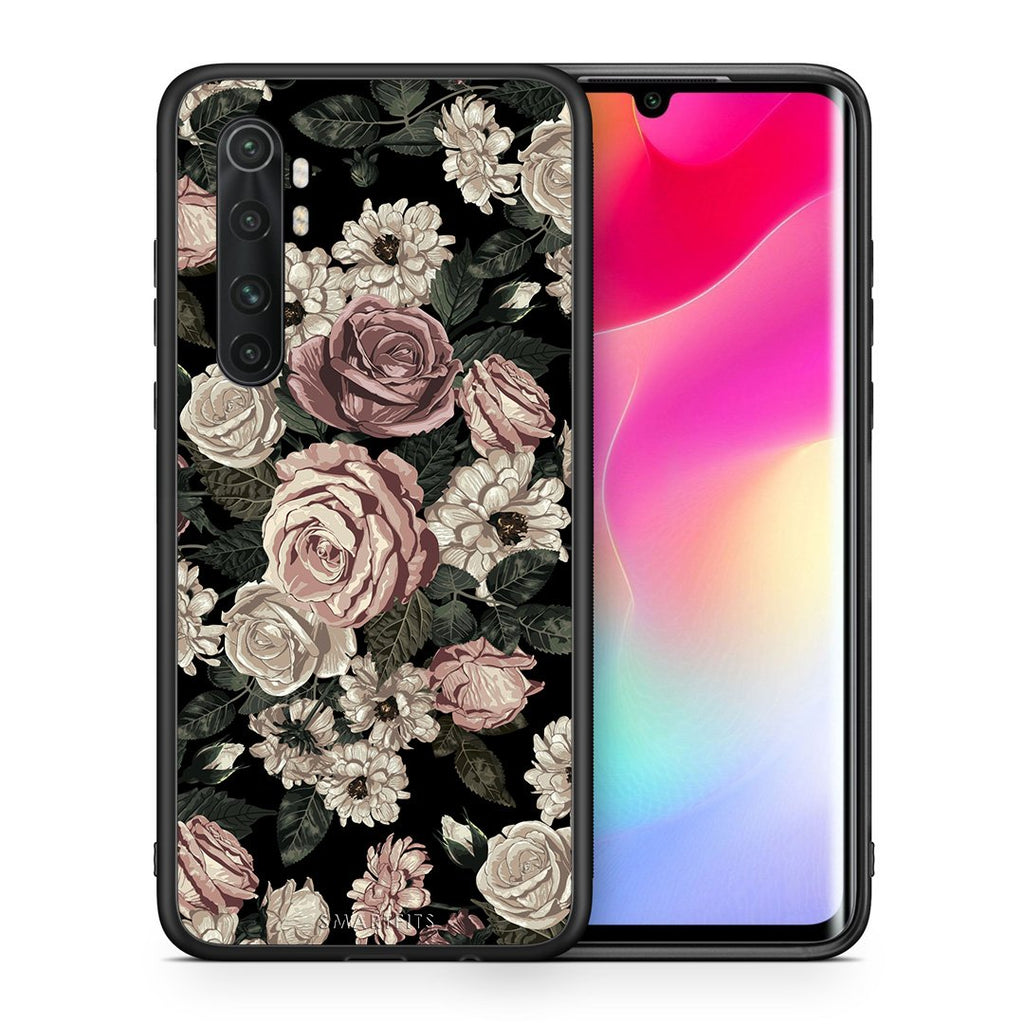 Θήκη Xiaomi Mi Note 10 Lite Wild Roses Flower από τη Smartfits με σχέδιο στο πίσω μέρος και μαύρο περίβλημα | Xiaomi Mi Note 10 Lite Wild Roses Flower case with colorful back and black bezels