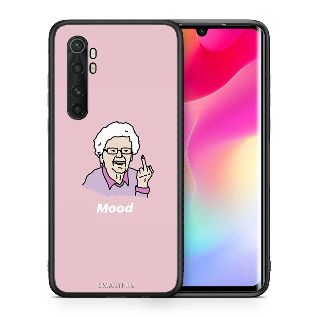 Θήκη Xiaomi Mi Note 10 Lite Mood PopArt από τη Smartfits με σχέδιο στο πίσω μέρος και μαύρο περίβλημα | Xiaomi Mi Note 10 Lite Mood PopArt case with colorful back and black bezels