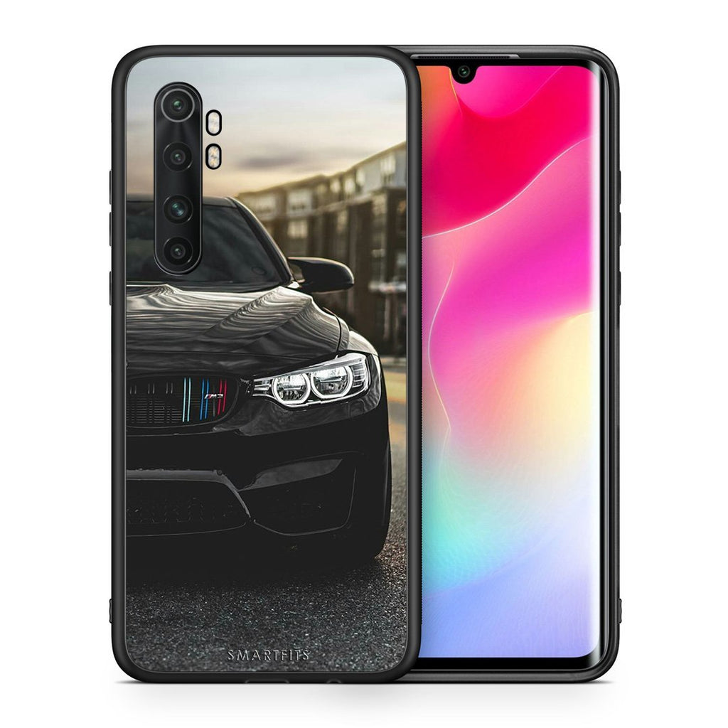 Θήκη Xiaomi Mi Note 10 Lite M3 Racing από τη Smartfits με σχέδιο στο πίσω μέρος και μαύρο περίβλημα | Xiaomi Mi Note 10 Lite M3 Racing case with colorful back and black bezels