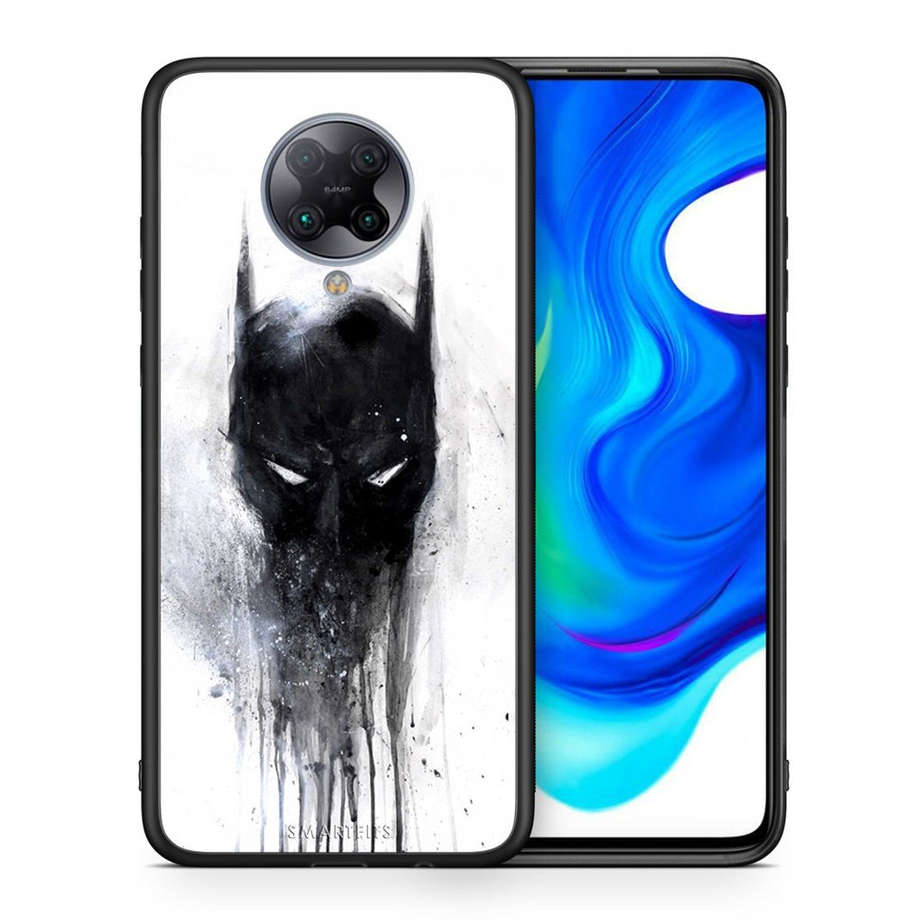 4 - Xiaomi Poco F2 Pro Paint Bat Hero case, cover, bumper
