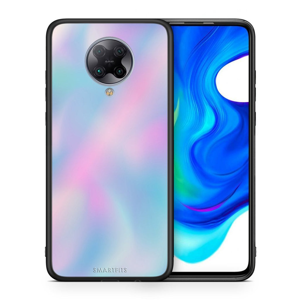 99 - Xiaomi Poco F2 Pro  Watercolor Rainbow case, cover, bumper