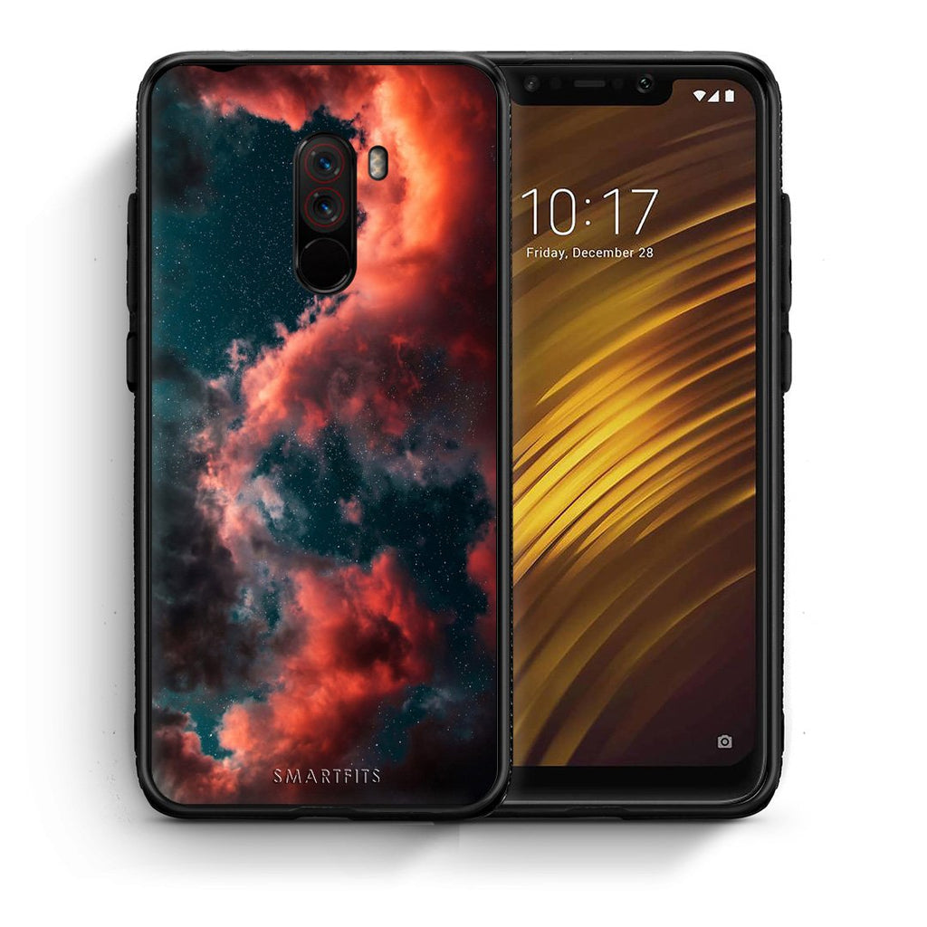 4 - Xiaomi Pocophone F1 Cloud Galaxy case, cover, bumper