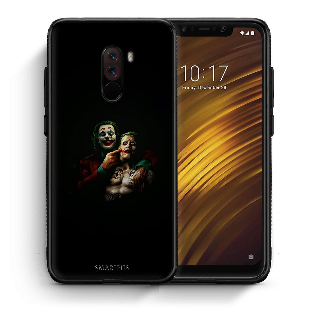 4 - Xiaomi Pocophone F1 Clown Hero case, cover, bumper