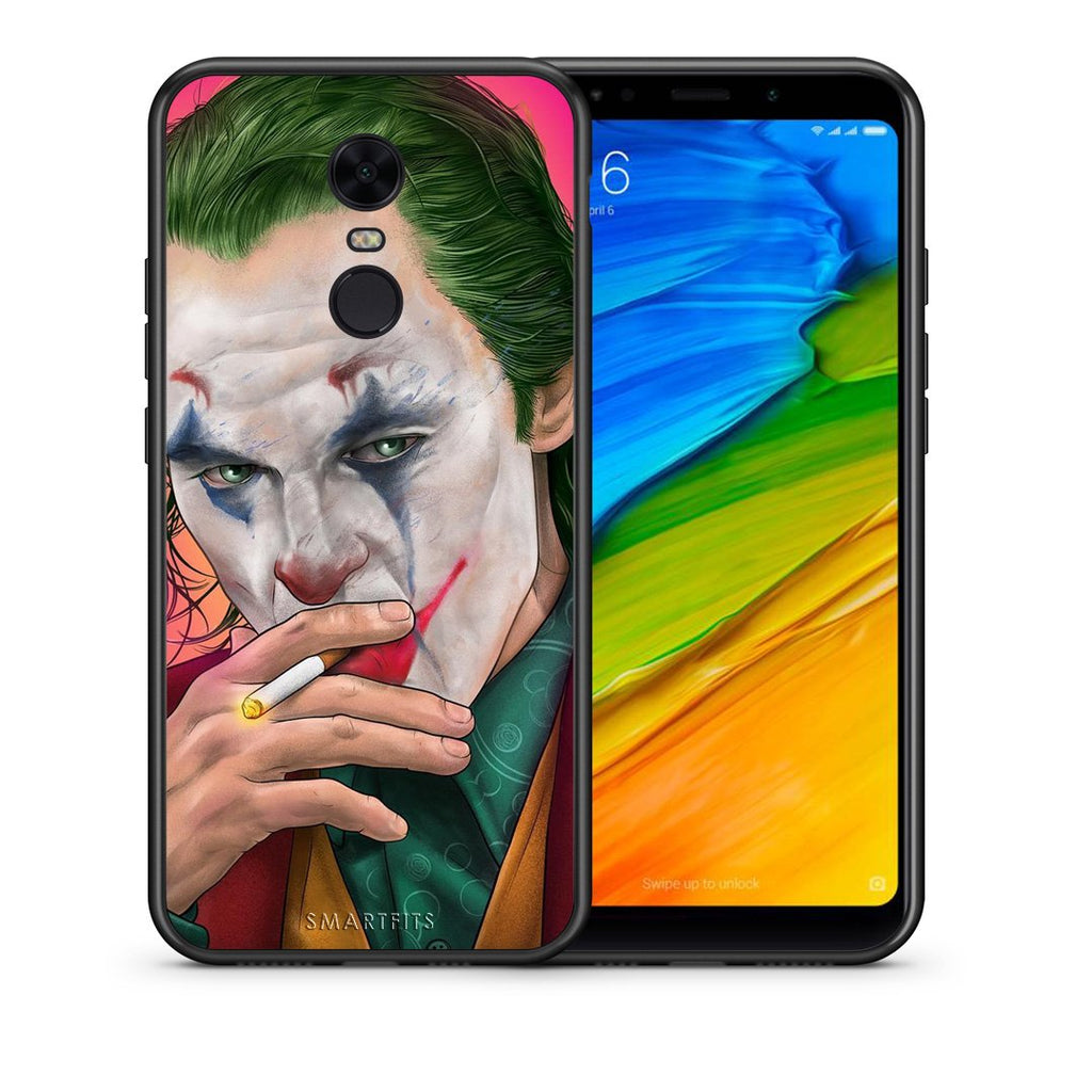 4 - Xiaomi Redmi 5 Plus JokesOnU PopArt case, cover, bumper