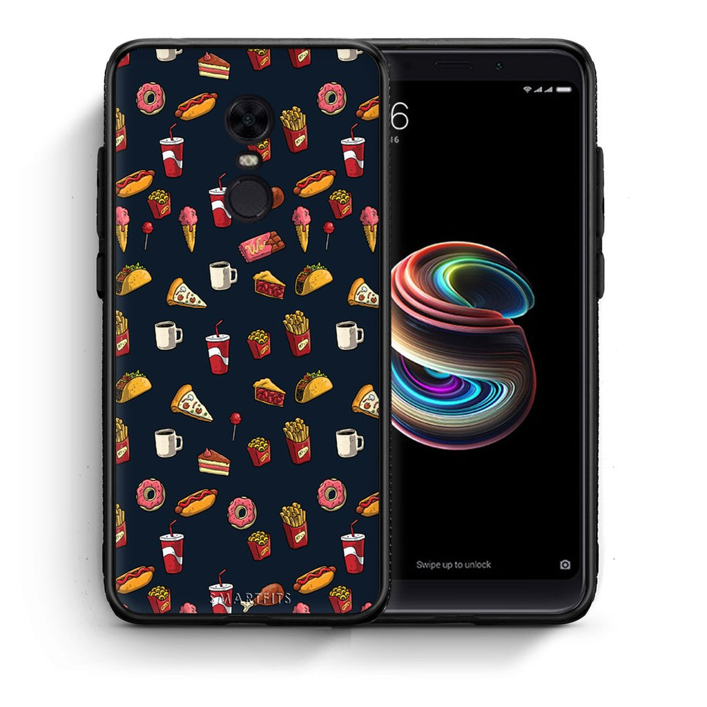 118 - Xiaomi Redmi 5 Plus  Hungry Random case, cover, bumper