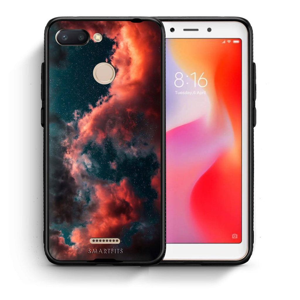 4 - Xiaomi Redmi 6 Cloud Galaxy case, cover, bumper