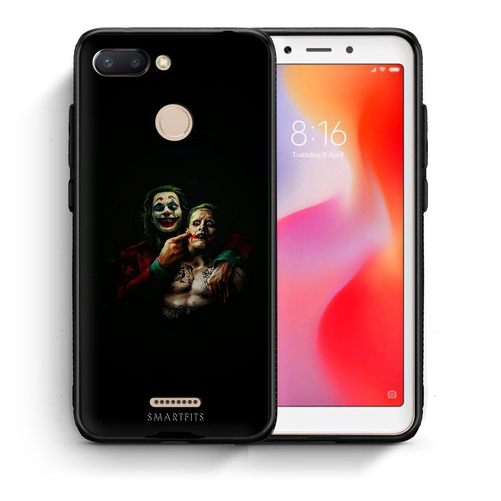 4 - Xiaomi Redmi 6 Clown Hero case, cover, bumper
