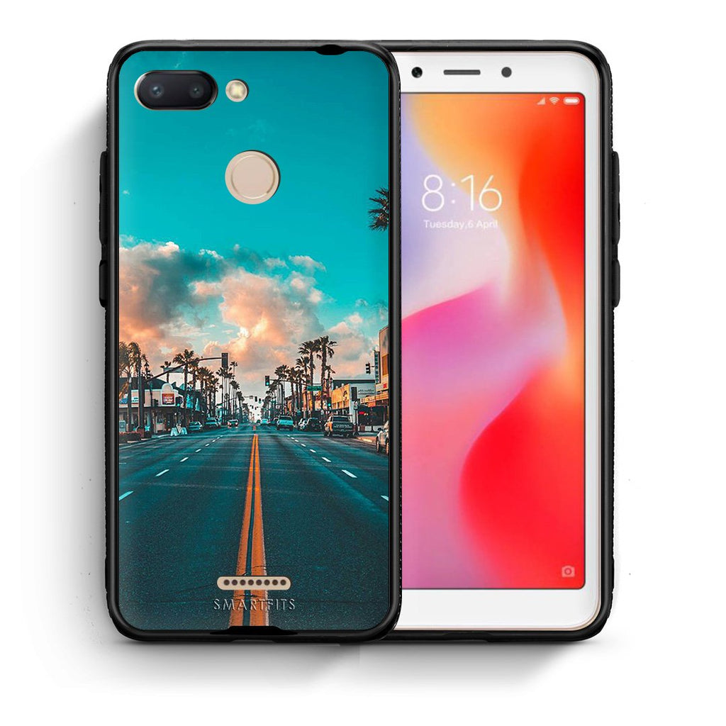 4 - Xiaomi Redmi 6 City Landscape case, cover, bumper