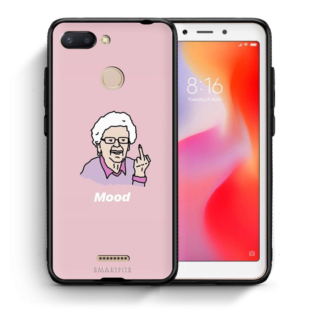 4 - Xiaomi Redmi 6 Mood PopArt case, cover, bumper