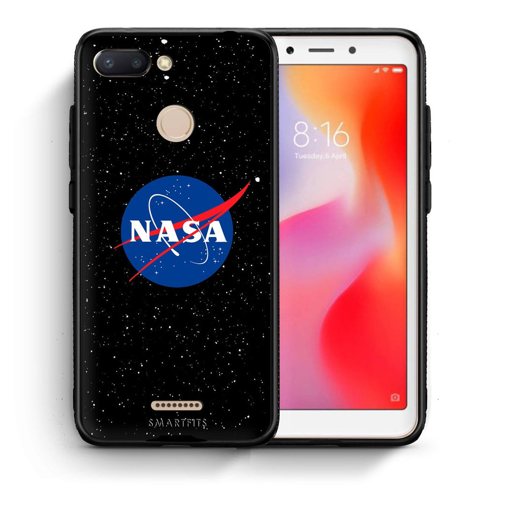 4 - Xiaomi Redmi 6 NASA PopArt case, cover, bumper