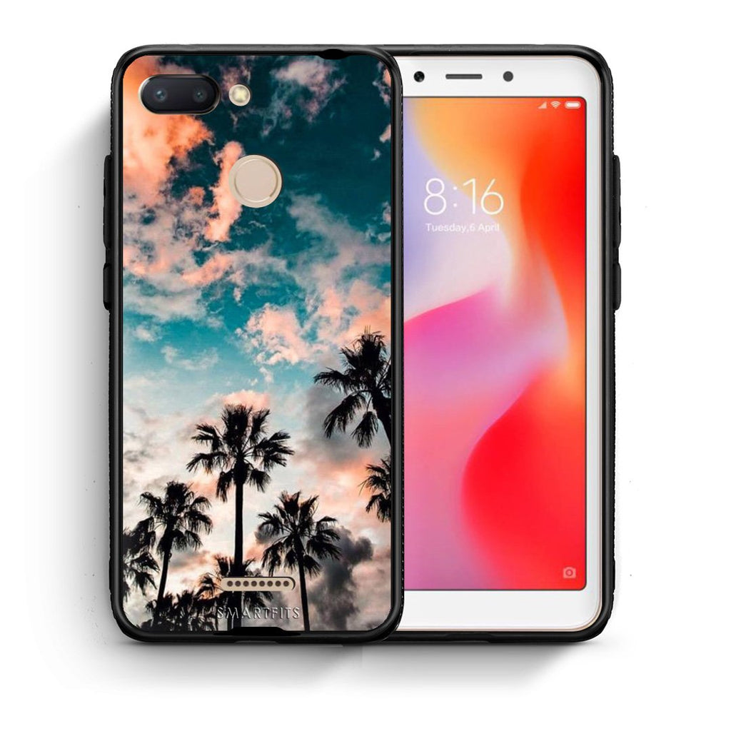 99 - Xiaomi Redmi 6  Summer Sky case, cover, bumper