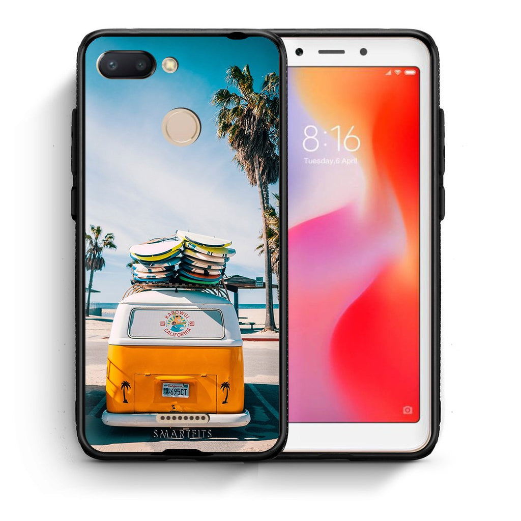 4 - Xiaomi Redmi 6 Travel Summer case, cover, bumper