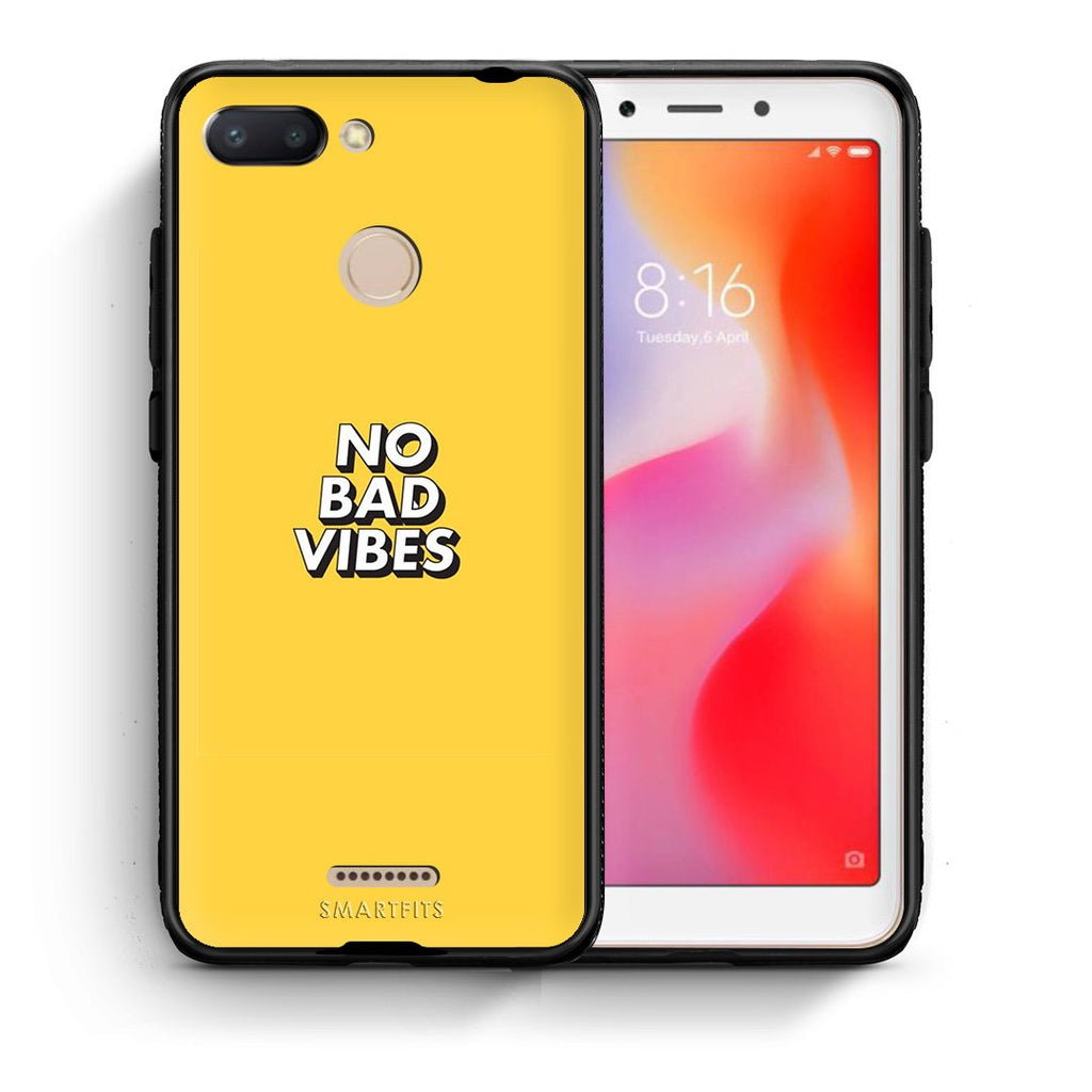 4 - Xiaomi Redmi 6 Vibes Text case, cover, bumper