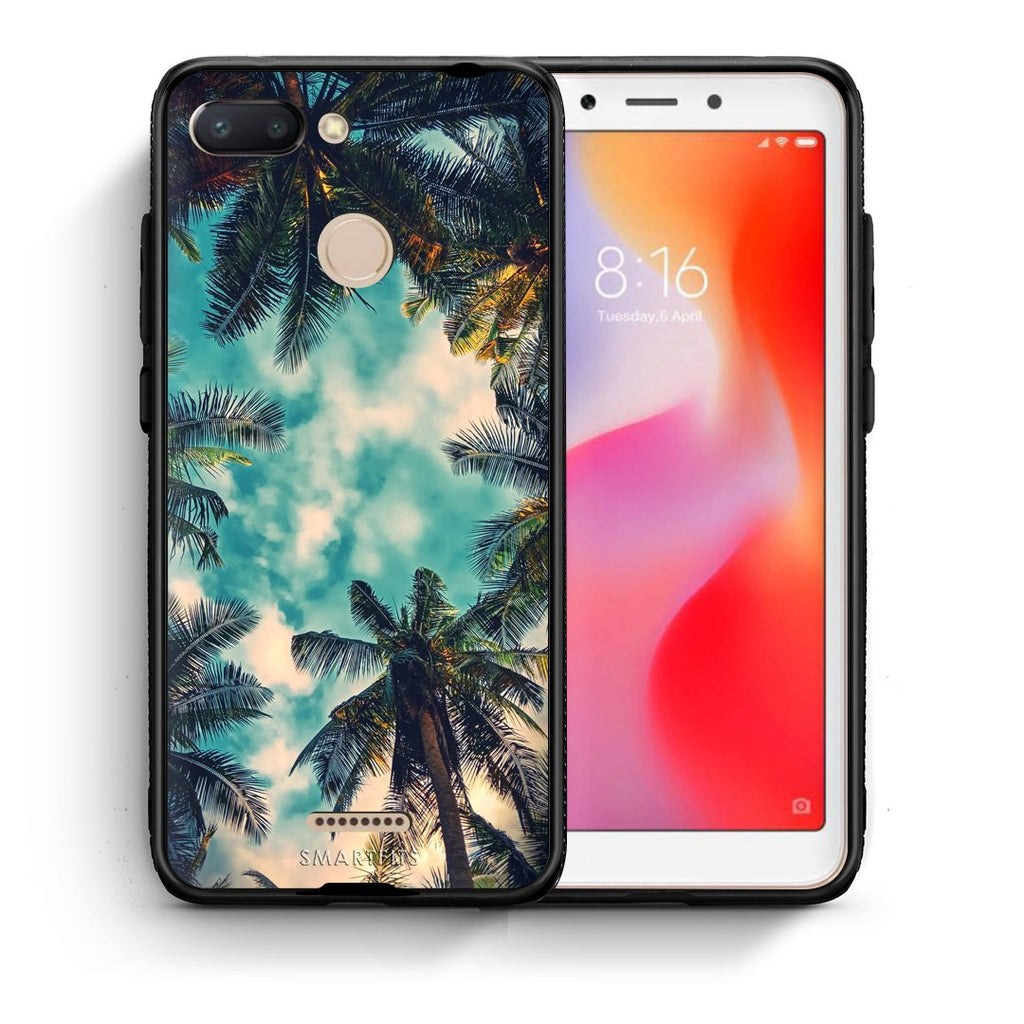 4 - Xiaomi Redmi 6 Bel Air Tropic case, cover, bumper