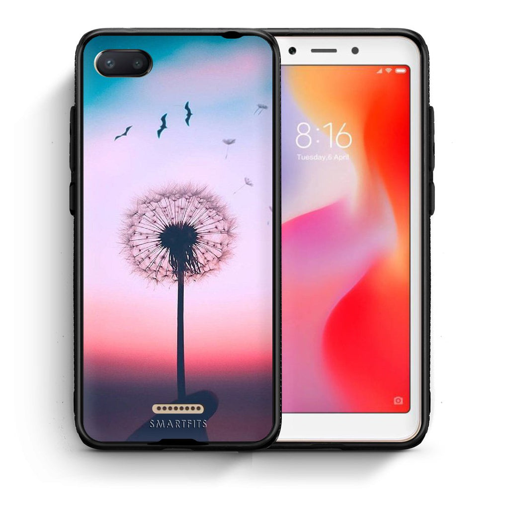 4 - Xiaomi Redmi 6A Wish Boho case, cover, bumper