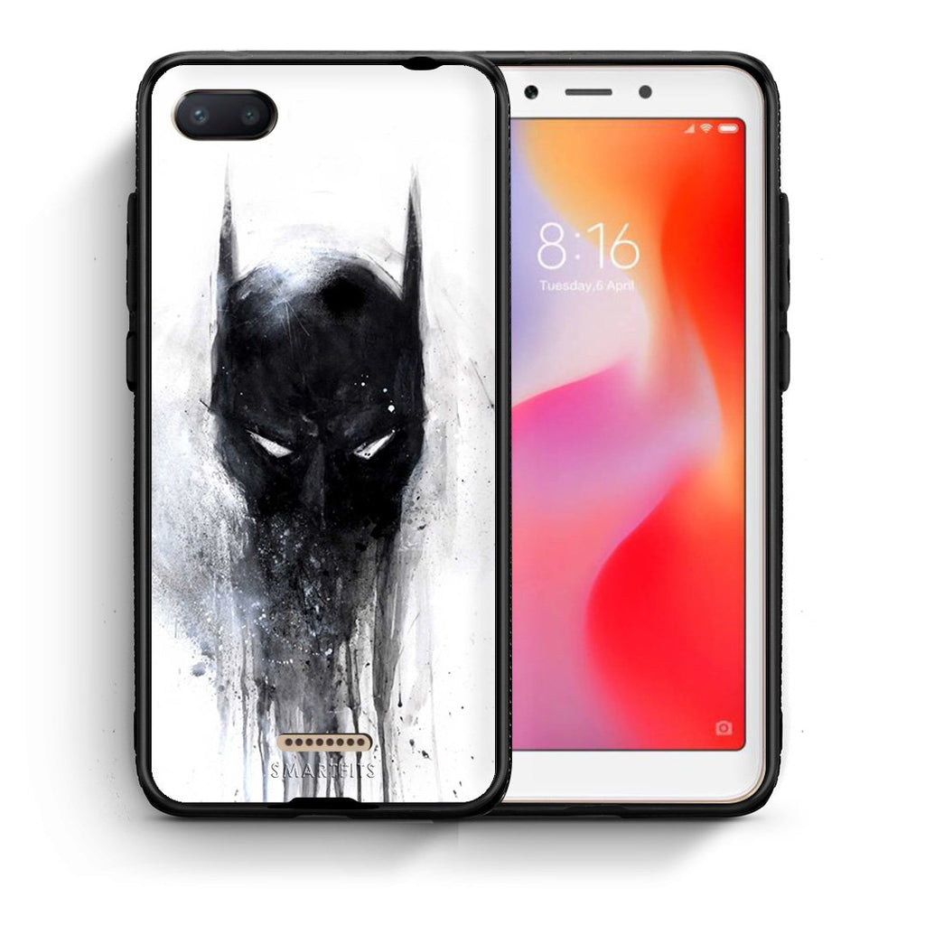 4 - Xiaomi Redmi 6A Paint Bat Hero case, cover, bumper