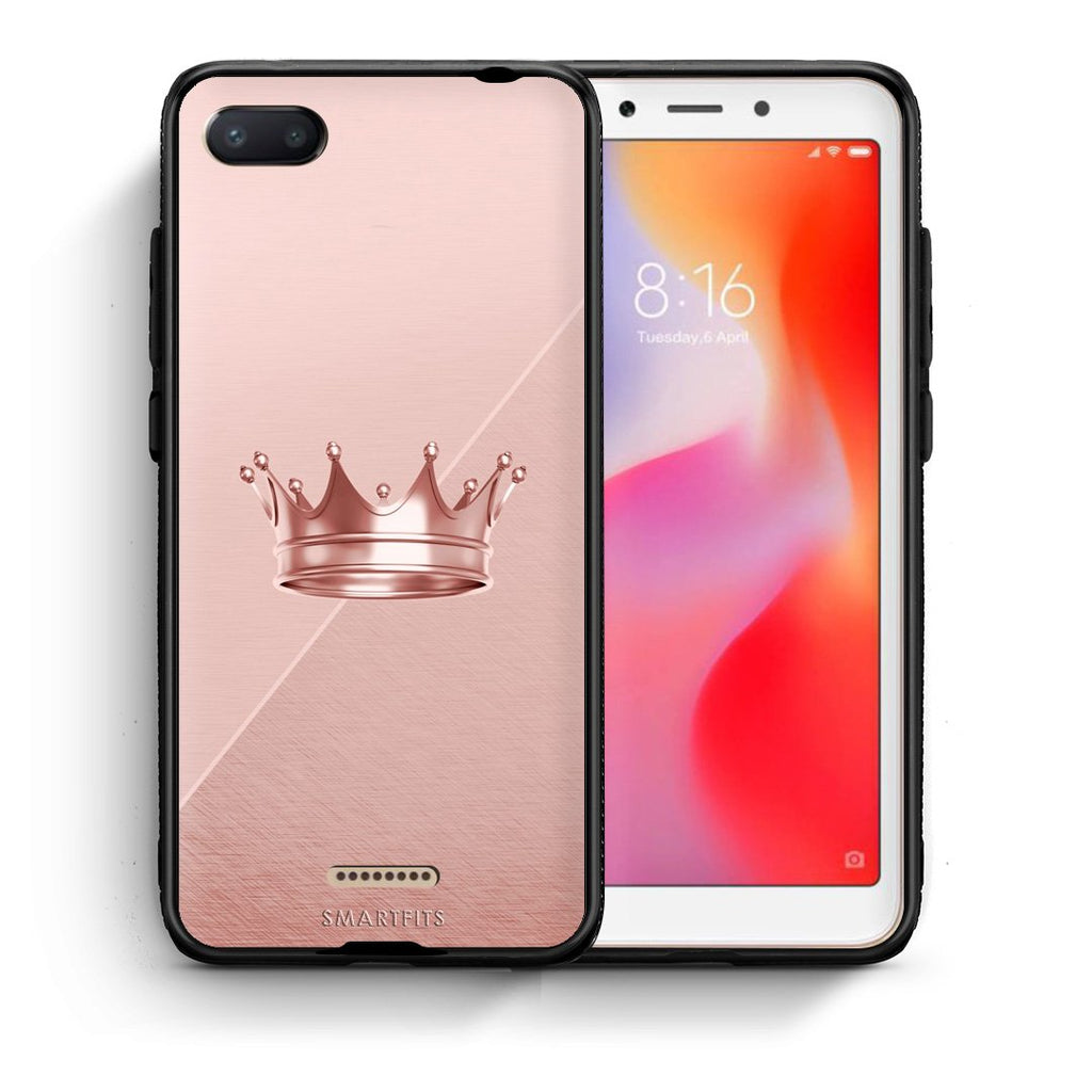 4 - Xiaomi Redmi 6A Crown Minimal case, cover, bumper