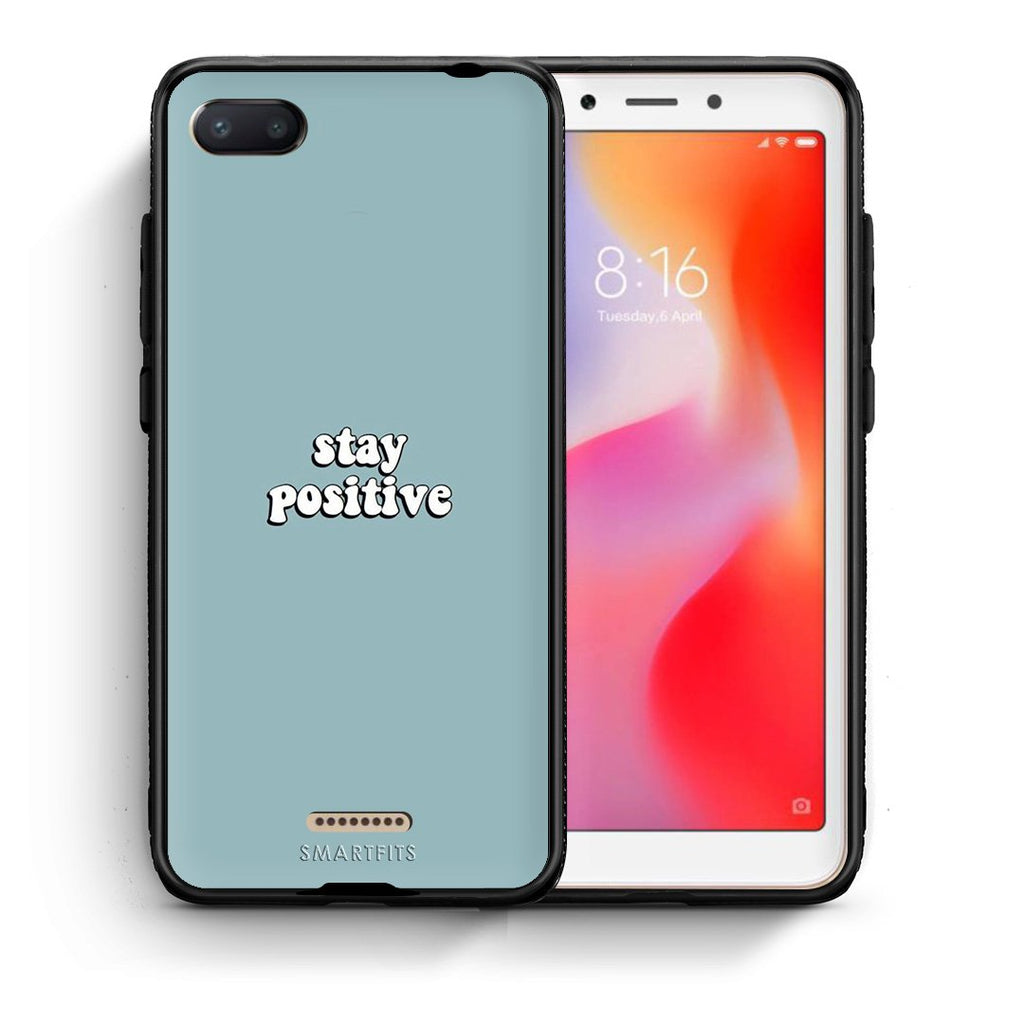 4 - Xiaomi Redmi 6A Positive Text case, cover, bumper