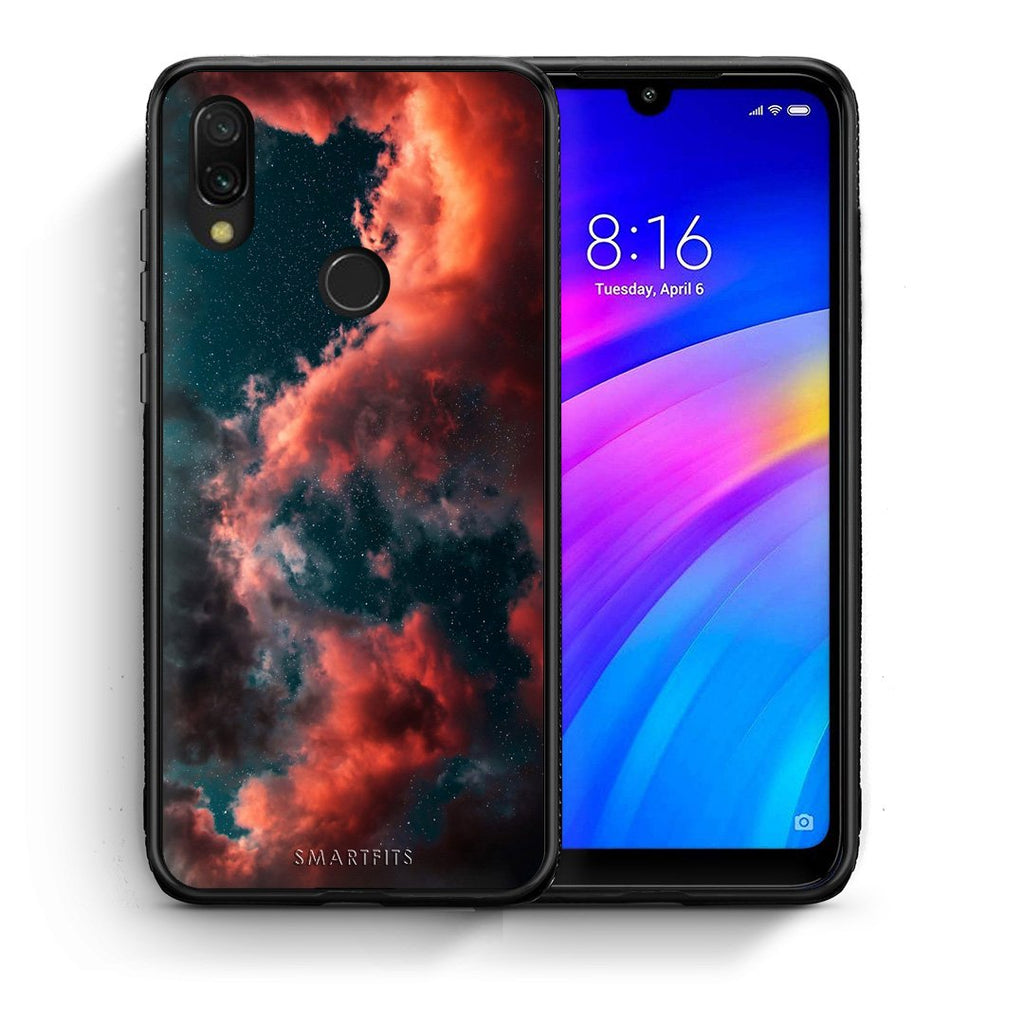 4 - Xiaomi Redmi 7 Cloud Galaxy case, cover, bumper