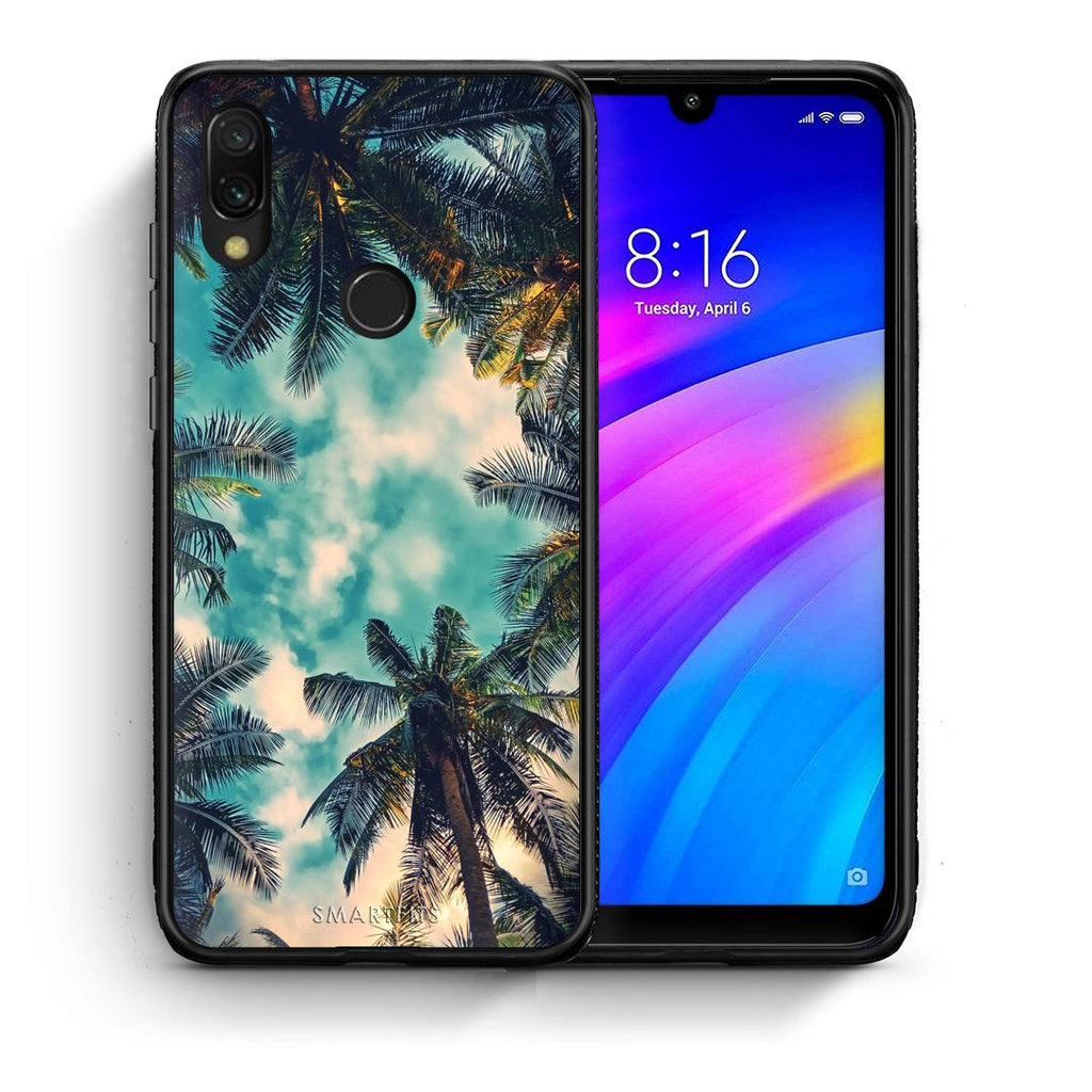 4 - Xiaomi Redmi 7 Bel Air Tropic case, cover, bumper