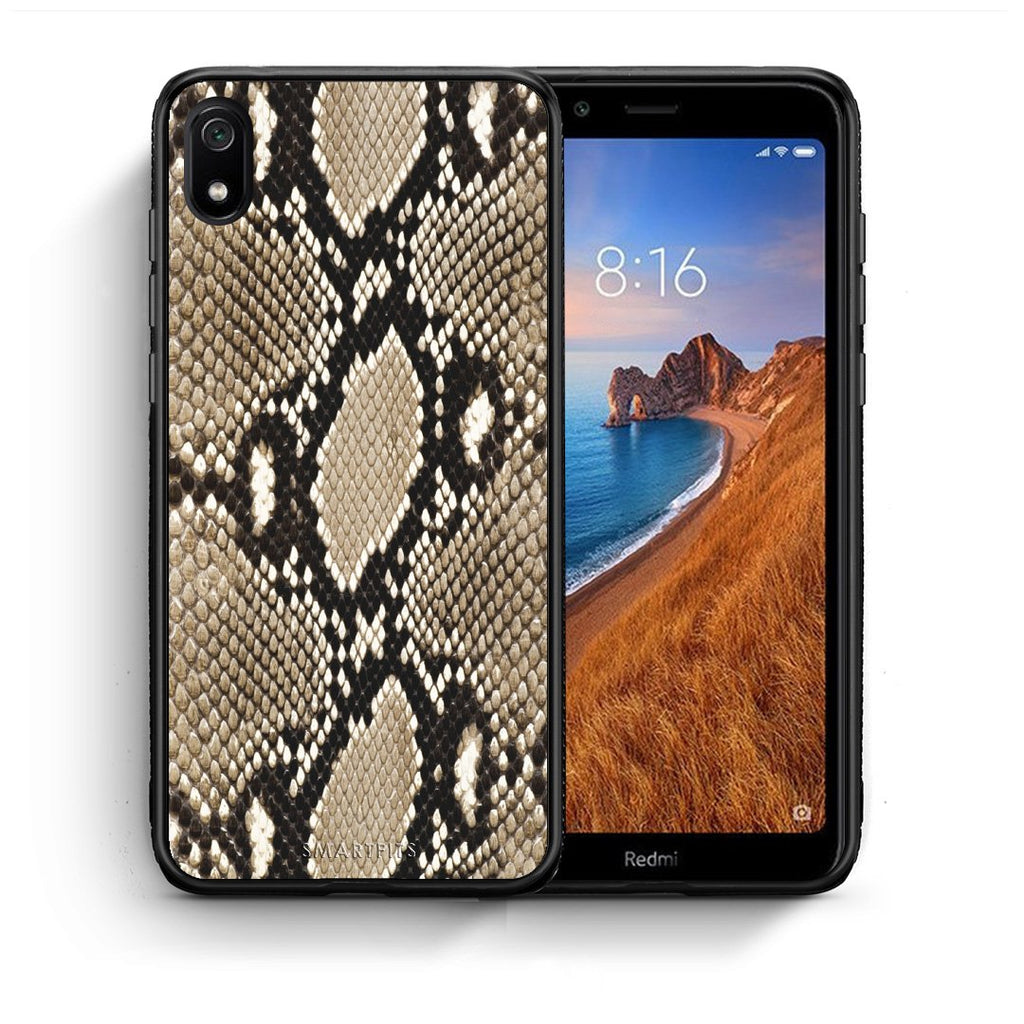 23 - Xiaomi Redmi 7A Fashion Snake Animal case, cover, bumper