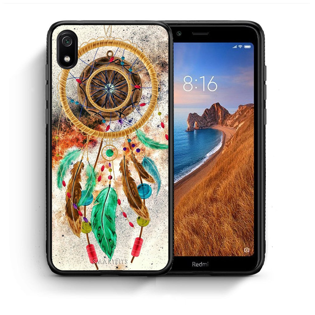 4 - Xiaomi Redmi 7A DreamCatcher Boho case, cover, bumper