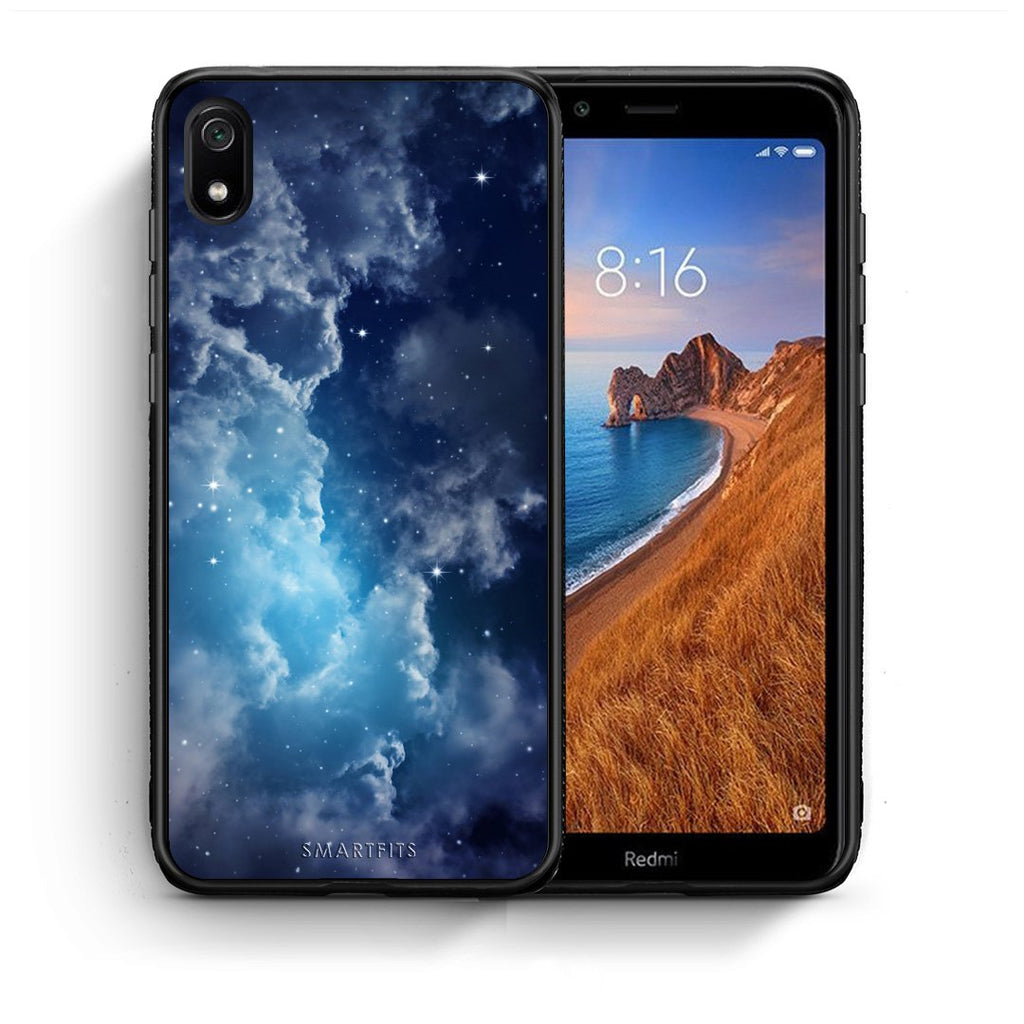 104 - Xiaomi Redmi 7A Blue Sky Galaxy case, cover, bumper