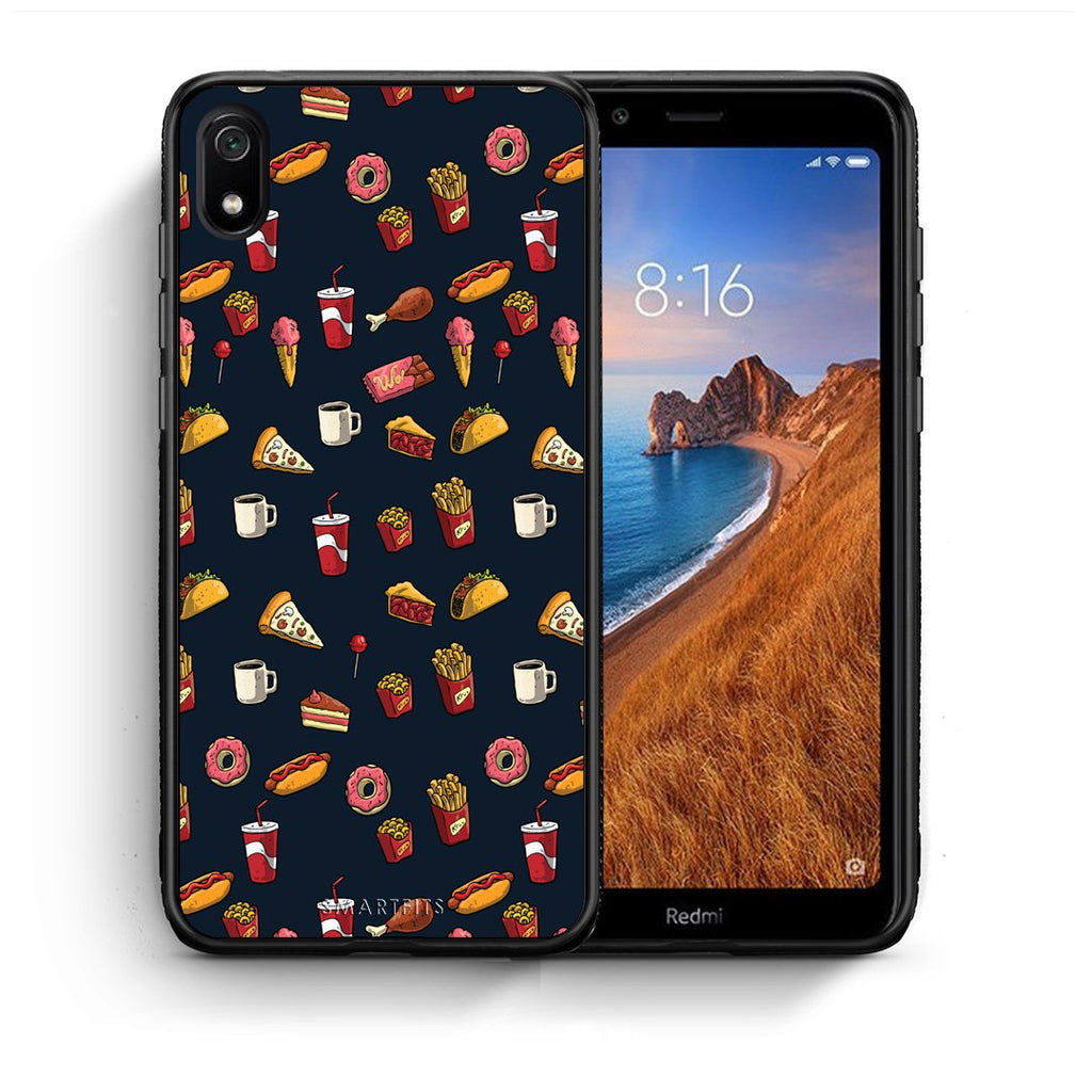 118 - Xiaomi Redmi 7A Hungry Random case, cover, bumper