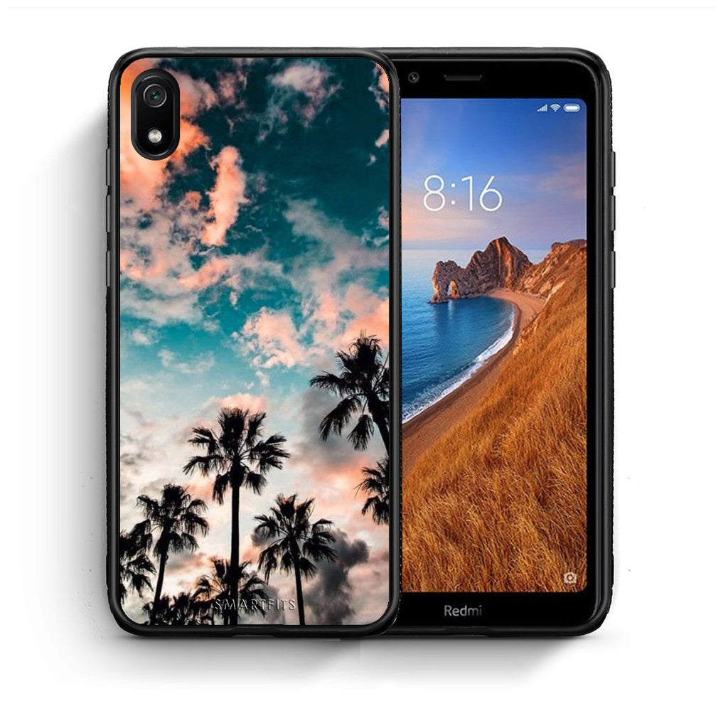 99 - Xiaomi Redmi 7A Summer Sky case, cover, bumper