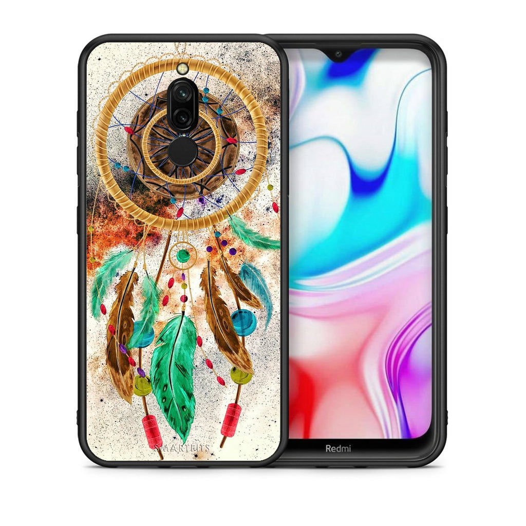 4 - Xiaomi Redmi 8 DreamCatcher Boho case, cover, bumper