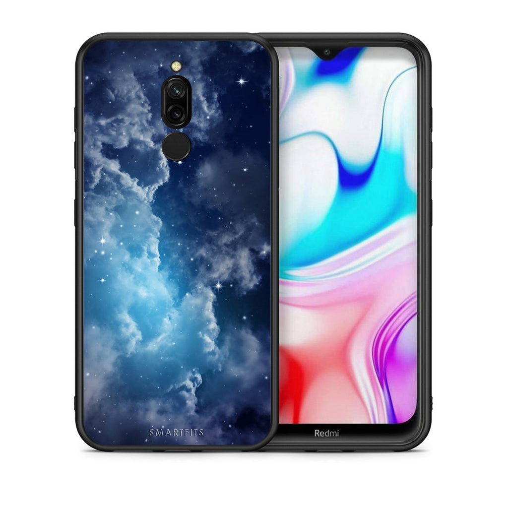 104 - Xiaomi Redmi 8 Blue Sky Galaxy case, cover, bumper