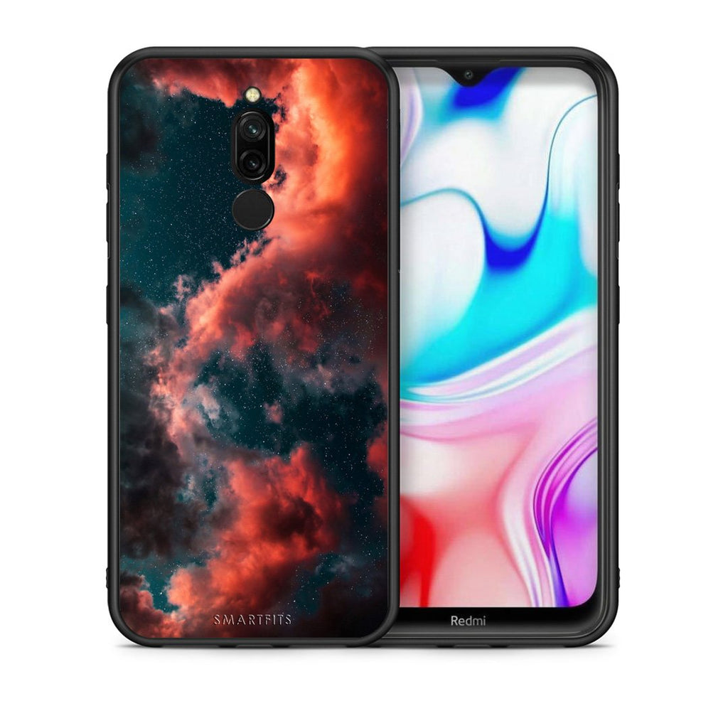 4 - Xiaomi Redmi 8 Cloud Galaxy case, cover, bumper