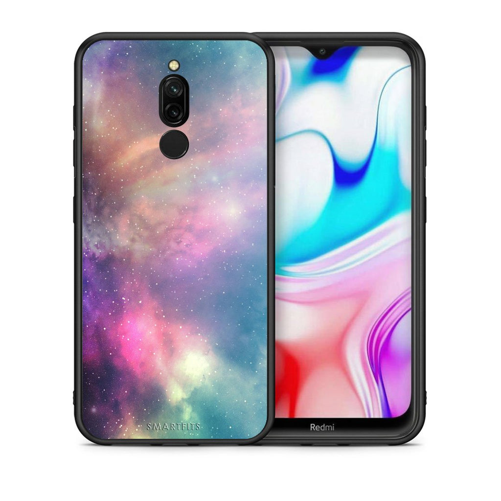 105 - Xiaomi Redmi 8 Rainbow Galaxy case, cover, bumper